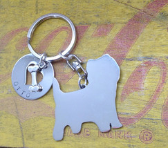 NEW Cairn Terrier Custom Keyring Keychain Scotland Scottish Dog - $18.00