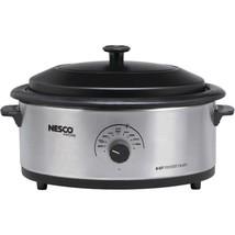 Nesco 4816-25-30 6-Quart Nonstick Roaster Oven (Stainless Steel) - $96.17