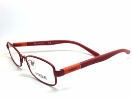 ec73a55237 Neu Authentische Vogue Brille Rot Junior Vo 3926 957-s 48mm - $89.77