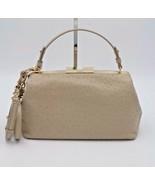 Kate Spade New York Victoria Falls Madeline Ostrich Leather Satchel Bag ... - $248.00