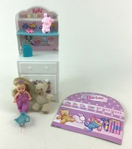 Barbie Baby Krissy as Mermaid Playset Lot Toy Shelf Accessories Mattel 1... - $24.70