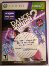 XBOX 360 KINECT - DANCE CENTRAL 2 (Complete with Manual) - $12.00