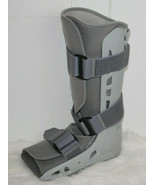 Aircast Walking Boot Adult Medium M Adjustable Inflation Dial Soft Strik... - $34.60