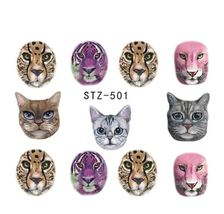 "HS Store -1 Sheets Funny Nail Sticker Water Decals Nail Art Kode ""STZ501"" - $2.52"