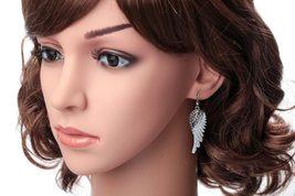 Women's Angel Wing Cross Necklace Earrings Bracelet Set image 6