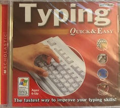 Typing Quick & Easy: The fastest way to improve your typing skills! [Bra... - $15.99