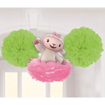Doc McStuffins Disney Cartoon Doctor Birthday Party Hanging Fluffy Decorations - $13.66
