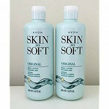Lot of 2 Avon Skin So Soft Original + Jojoba Body Lotion 11.8 oz. ea. - $19.79