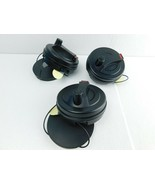 Lot Of (3) Large Security Alarm Cable lok Retail Anti Theft Devices Siren  - $19.79
