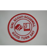 GIRL SCOUT-GOODWILL - GOOD TURN DAY (Patch) - $10.00