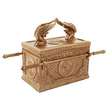 Pacific Giftware The Ark of The Covenant Box Model Collectible Golden Ar... - $35.63