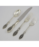 Valenciennes by Manchester Sterling Silver Regular 4 Piece Flatware Set,... - $160.00
