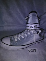 Converse All Star Sneakers - Metallic Grey Velvet Low Top - NEW IN BOX!!... - $38.80
