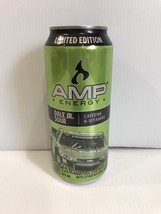 Amp Energy Drink Limited Edition Dale Jr. Sour Can. 1 Single Full Expire... - $10.99