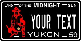 Yukon Canada 1959 License Plate Personalized Custom Car Bike Motorcycle ... - $10.99+