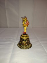 HANDMADE SPANISH? DECORATED BELL WITHOUT RINGER - $24.75