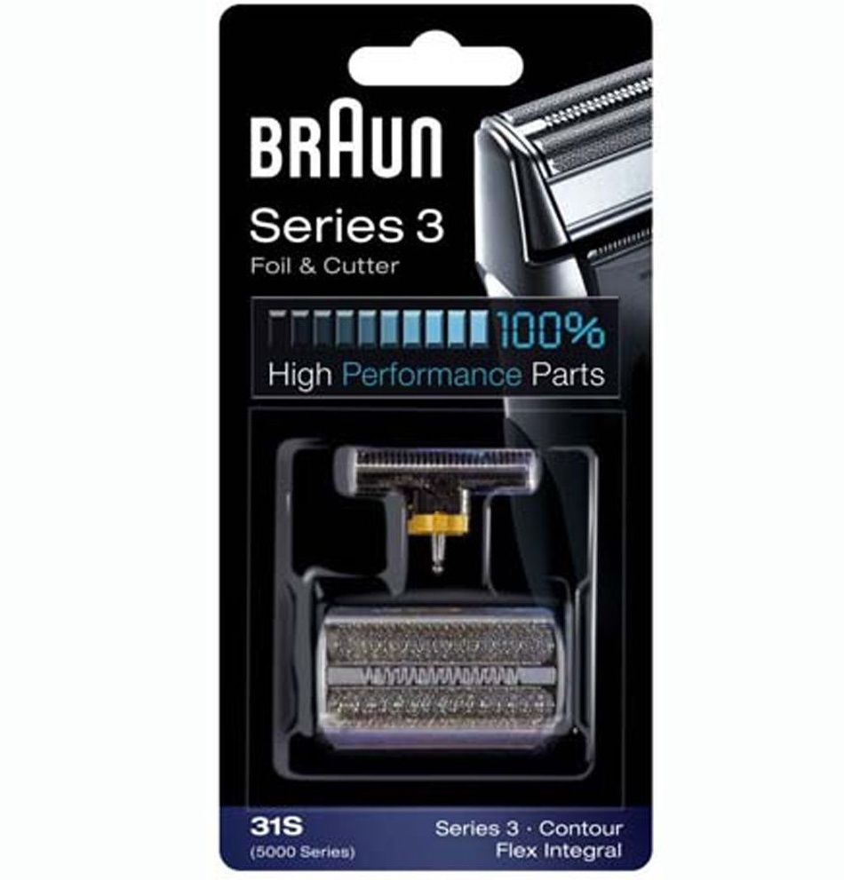 Braun 31S [5000 Series] Replacement Foil/Cutter Fits Series 3 Contour Flex