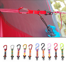 Aluminum Alloy Outdoor Camping Tent Rope Buckle S Shape D Shape Windproo... - $8.10