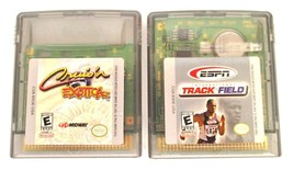 2 Nintendo Game Boy Color Games ESPN International Track Field & Cruis'n... - $12.62