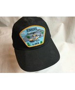 Helicopter Finning Hat Cap Snapback Trucker Cotton Poly C-GFIN Patch - $37.39