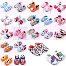 Shoes Prewalker Cotton Toddler Infant Soft Sole Girl Boy Newborn Pram Cr... - $7.70