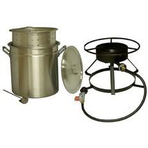 King Kooker #5012-50 Qt. Aluminum Pot and Cooker Pkg - €197,43 EUR