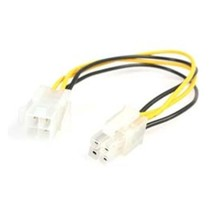 Star Tech ATXP4EXT 8in ATX12V 4 Pin P4 Cpu Power Extension Cable Retail - $23.17