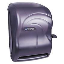 San Jamar T1190TBK Lever Roll Towel Dispenser, Oceans, Black Pearl, 12 1... - $64.23