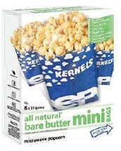 All Natural - 8pk Bare Butter Mini Bags Microwave Popcorn -3Lbs - $299.18