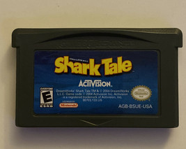 AMAZING SHARK TALE NINTENDO GAMEBOY ADVANCE SP GBA GAME AUTHENTIC - $4.85