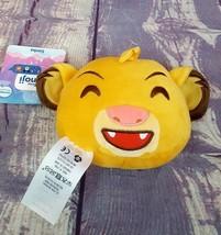 "Disney Parks 4"" Emoji Double Sided The Lion King Simba Cub Stuffed Plush... - $11.40"