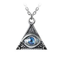 Eye of Providence Pendant by Alchemy Gothic - $37.62