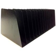 Sandusky Buddy Mirage 8-Pocket Slant Files Desk Organizer, Black  - $61.61