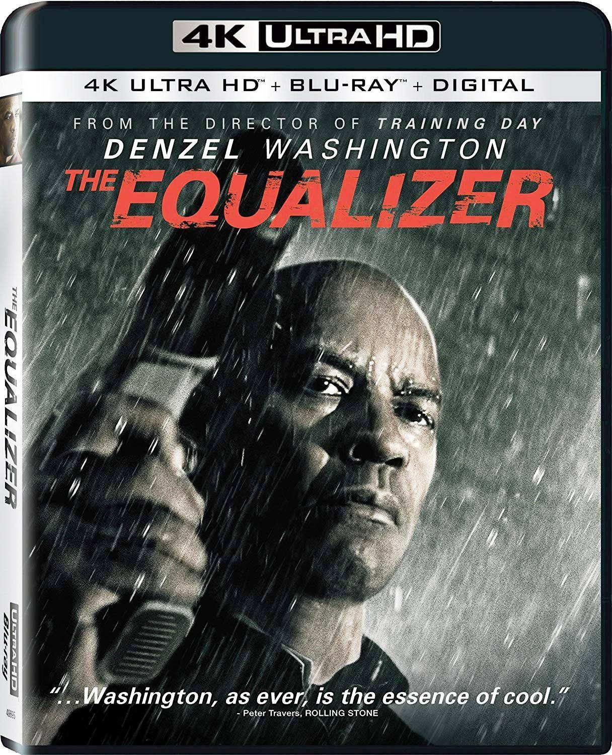 The Equalizer (4K UHD/Blu-ray/Digital, Canadian w/ USA Compatible Discs) NEW