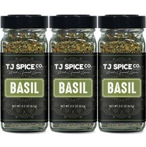 TJ Spices & Co. Basil (3 Pack) - $19.79