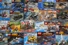 Lego Poly Bag Sets Star Wars Marvel Dc Ninjago City Tmnt Creator Chima Lotr - $4.40+