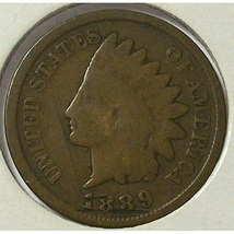 1889 Indian Head Cent G4 #0543 - $1.99
