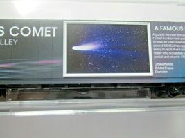 Micro-Trains # 10200842 Halley's Comet 60' Boxcar with Light N-Scale image 4
