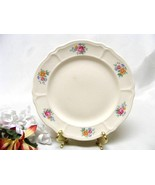 3910 SHIPS FREE Antique Tea Rose Scalloped Bread & Butter Plate - $11.50