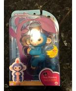 NEW WowWee Fingerlings Boris Light Blue Orange Hair Monkey Interactive A... - $18.54