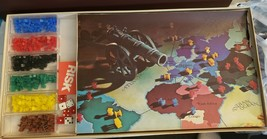 RISK Board Game Vintage 1975 Parker Brothers World Conquest No 44. Compl... - $34.64