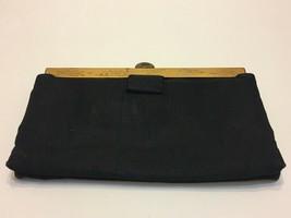 Vtg CROWN LEWIS Handbag Pocketbook Purse with Matching Powder Mirror & C... - $50.00