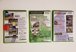 MICROSOFT XBOX - Lot of 3 Sport Games MLB 2004 Nascar Heat 2002 MX World Tour image 2