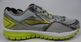 Brooks Ghost 8 Size US 12 M (D) EU 46 Men's Running Shoes Silver 1101981D029