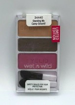 Wet N Wild Coloricon Eyeshadow 34440 Standing My Camp Ground Palette New Sealed - $5.99