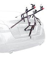 2 Bike Trunk Rack Express Mount Tie Down System Car Sedan SUV Minivan Ha... - £39.58 GBP