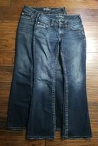2 Pair Women's Silver Suki Surplus Jeans Size: 26 Inseam: 29 (Inventory ... - $45.53