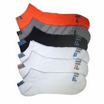 FILA Men's 6 Pack Classic Sport Athletic Gym Moisture Control Absorb Dry Socks image 5