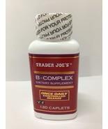 Trader Joe's B-complex Dietary Supplement - 120 Caplets - $18.79