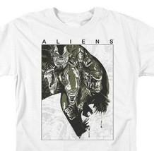 Alien t-shirt retro 70s 80s science fiction horror cotton graphic tee TCF632 image 2